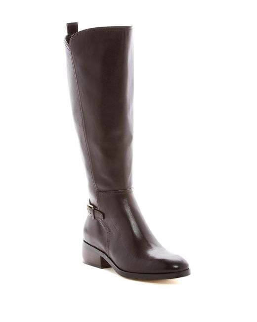 Cole Haan | Brown Hayes Tall Boot - Extended Calf | Lyst