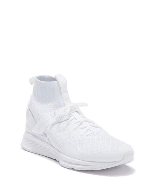866b783820a PUMA - White Ignite Evoknit Ennoir Sneaker for Men - Lyst ...