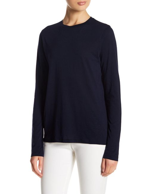 Vince | Blue Long Sleeve Shirt | Lyst