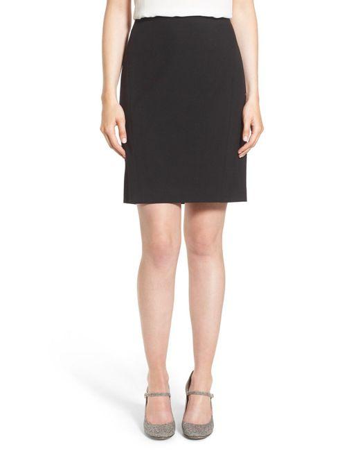 Halogen - Black (r) Ela Suit Skirt (regular & Petite) - Lyst