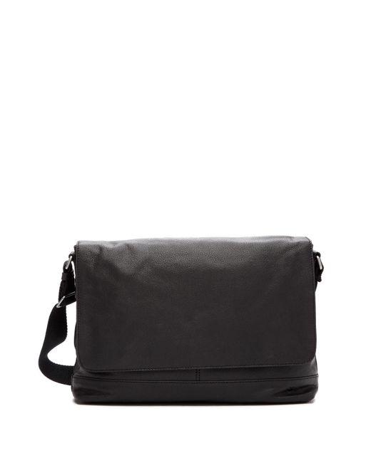Frye - Black Owen Leather Messenger Bag for Men - Lyst