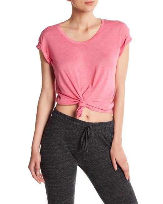 Alternative Apparel - Pink Kimber Short Sleeve Tee - Lyst