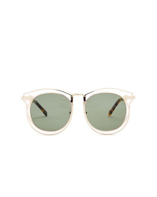 Karen Walker - Multicolor Simone 54mm Round Sunglasses - Lyst
