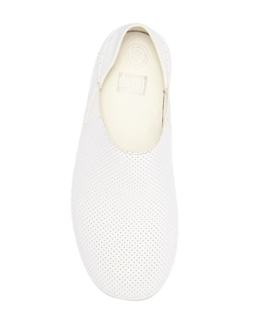 6b0b91aa1cd ... Fitflop - White Perforated Leather Superloafer for Men - Lyst ...