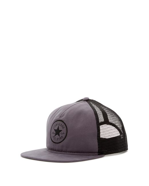 Converse | Gray Core Canvas Trucker Hat for Men | Lyst