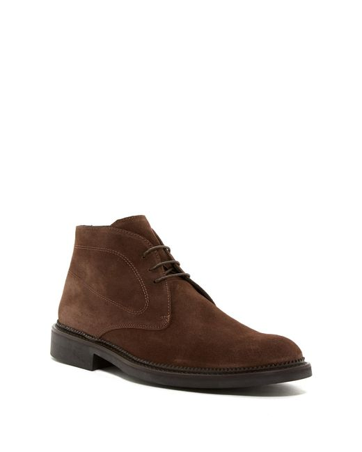 Bugatchi - Brown Verona Suede Chukka Boot for Men - Lyst