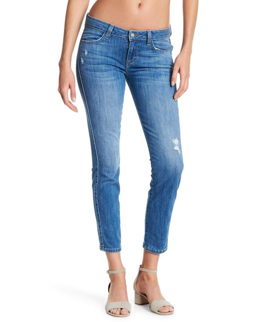 Siwy - Blue Hannah Distressed Skinny Jeans - Lyst