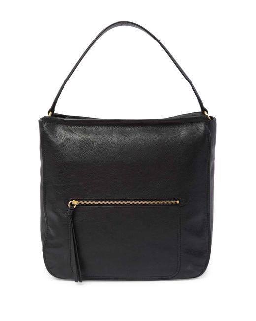 Cole Haan - Black Jade Leather Bucket Shoulder Bag - Lyst