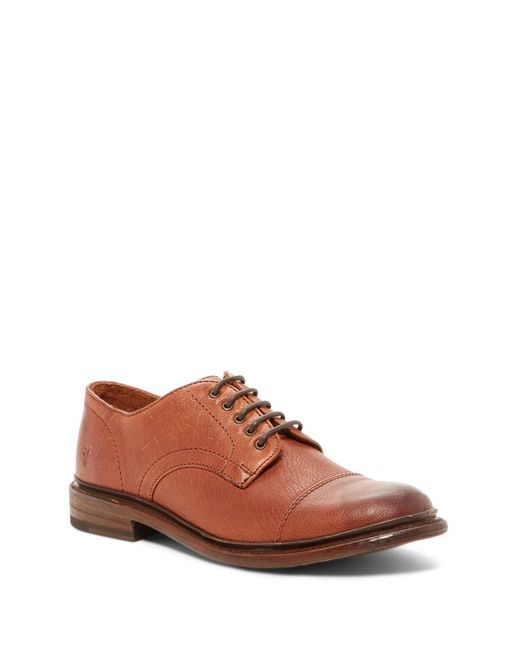 Frye | Brown Jack Lace Up Oxford for Men | Lyst