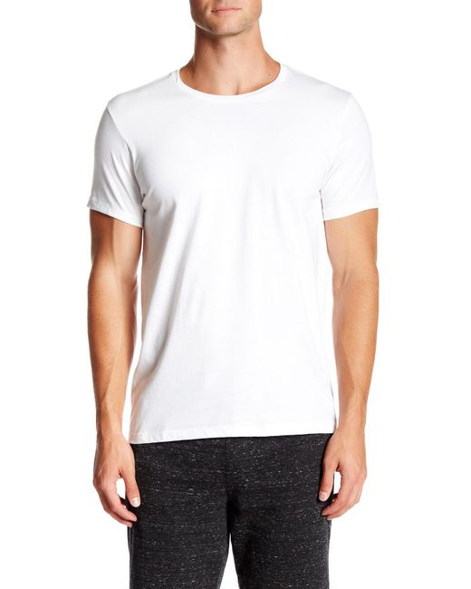 CALVIN KLEIN 205W39NYC - White Crew Neck Tee - Pack Of 3 for Men - Lyst