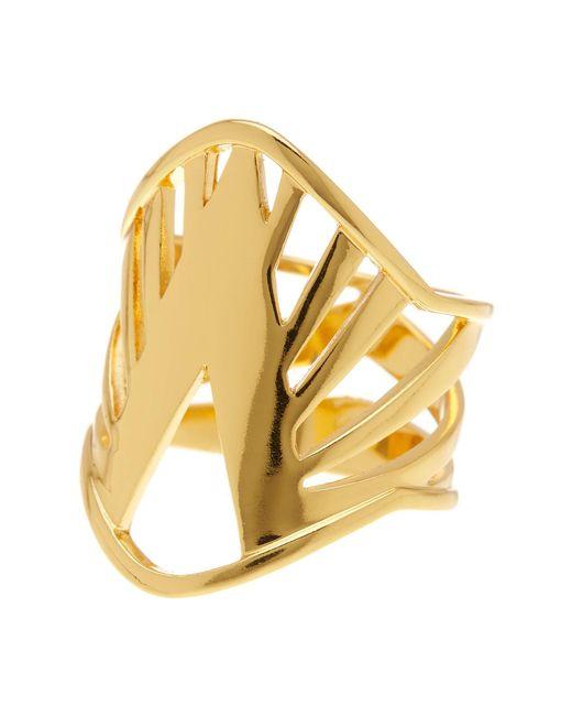 Gorjana | Metallic Shera Ring - Size 6 | Lyst