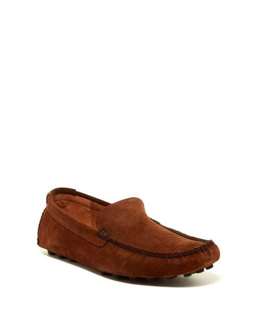 Frye | Brown Russel Venetian Loafer for Men | Lyst