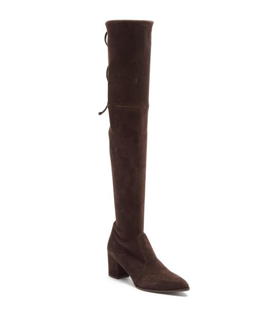 Stuart Weitzman - Brown Thighland Over-the-knee Boot - Lyst