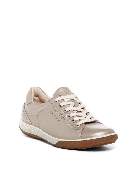 Ecco - Multicolor Chase Ii Tie Leather Sneaker - Lyst