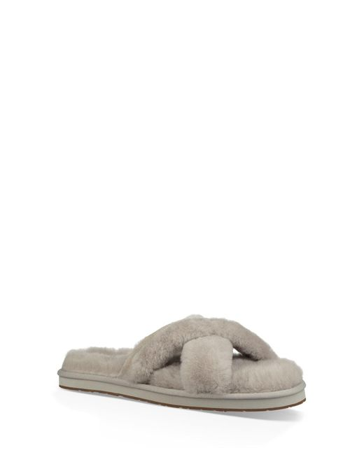 02d17a122706 Lyst - UGG Willow Abela Slipper Sandal in Gray - Save 64%