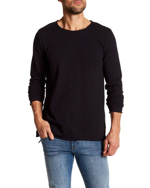 Threads For Thought | Black Charleston Jersey Slub Long Sleeve Tee for Men | Lyst