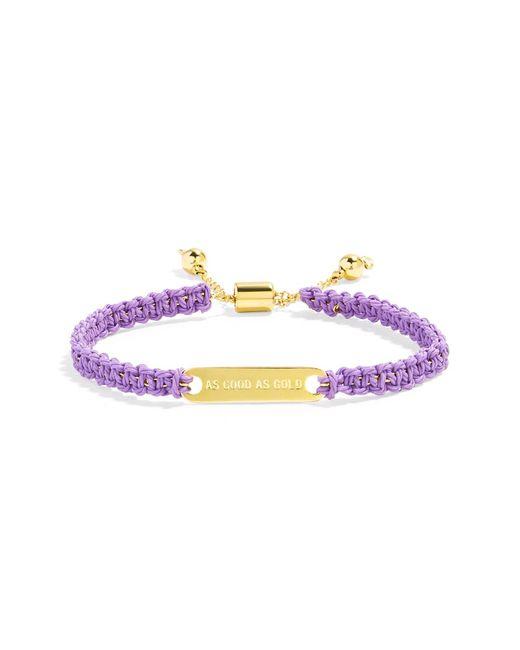 BaubleBar | Purple Standard Woven Bracelet | Lyst