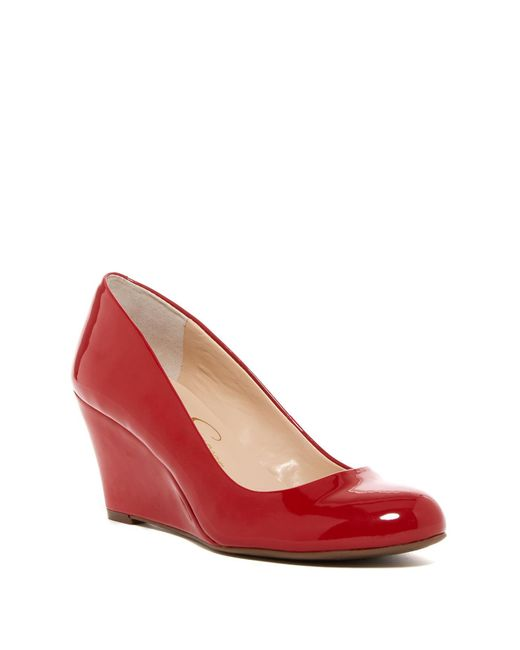Jessica Simpson - Red Suzanna Wedge Pump - Multiple Widths Available - Lyst