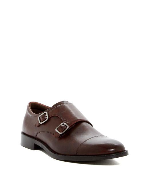 Gordon Rush | Brown Preston Double Monk Strap Shoe for Men | Lyst