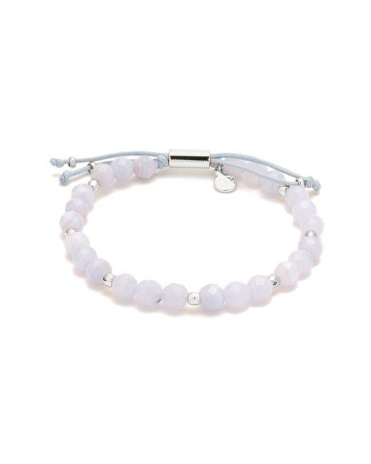 Gorjana - Metallic Silver-tone Large-bead Bracelet - Lyst