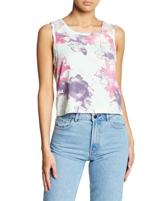 Threads For Thought - Multicolor Shelby Crop Tank - Lyst