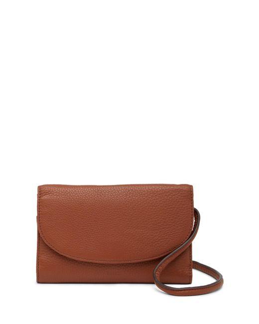Fossil - Brown Sophia Leather Crossbody Bag - Lyst