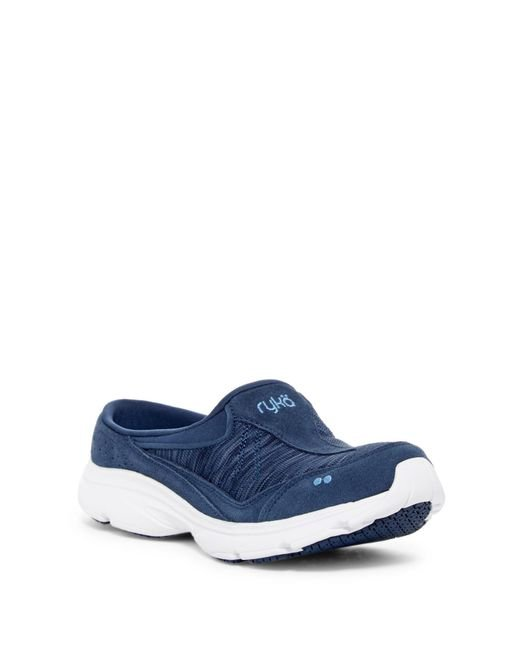 Ryka | Blue Tranquil Slip-resistant Slip-on Sneaker - Wide Width Available | Lyst
