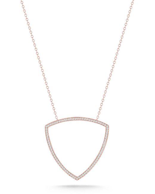Dana Rebecca - Metallic 14k Rose Gold Diamond Alexa Jordyn Pendant Necklace - 0.42 Ctw - Lyst