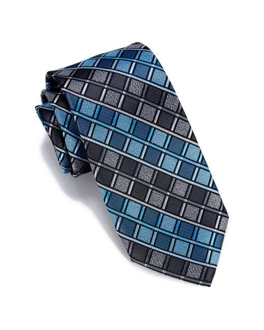 Perry Ellis - Blue Rossi Geo Pattern Tie for Men - Lyst