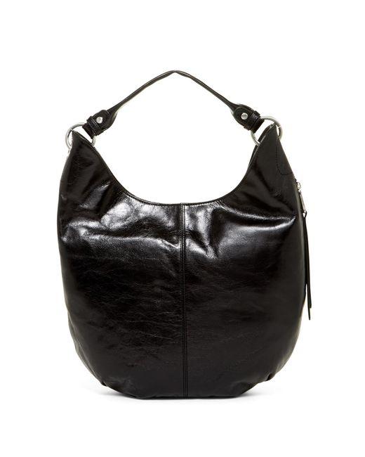 Hobo - Black Gardner Leather Convertible Clutch/crossbody - Lyst