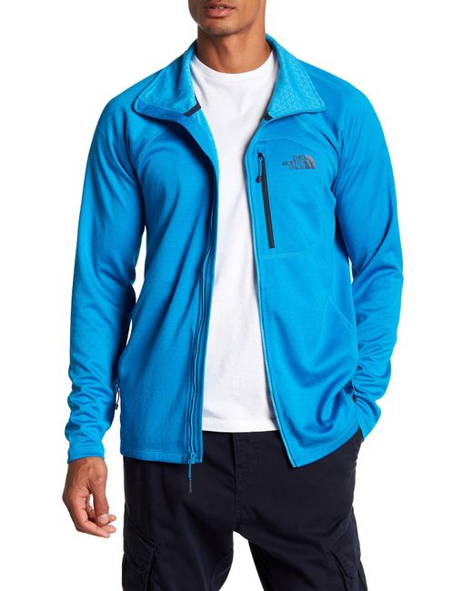 The North Face - Blue Fuse Fleece Lined Jacket for Men - Lyst