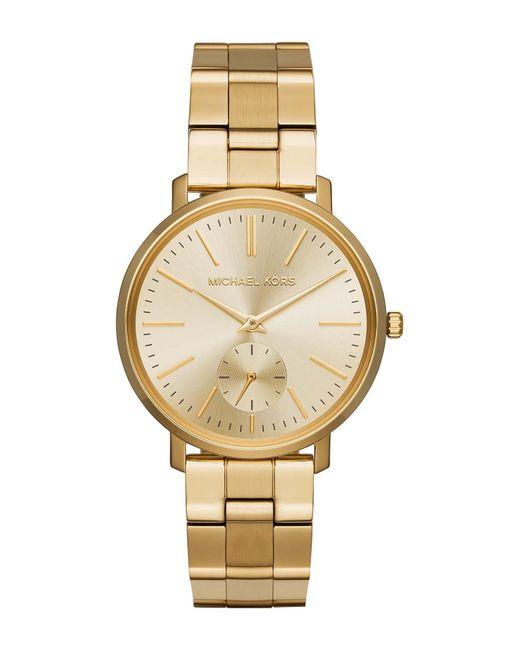 MICHAEL Michael Kors - Metallic Women's Jaryn Gold-tone Stainless Steel Watch, 38mm - Lyst