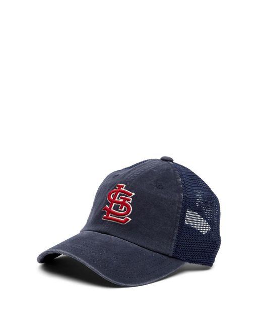 American Needle - Blue St. Louis Cardinals Raglan Bones Mesh Baseball Cap for Men - Lyst