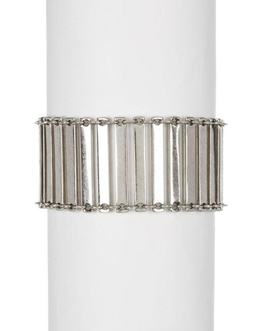 House of Harlow 1960 - Metallic Ionic Etch Bracelet - Lyst