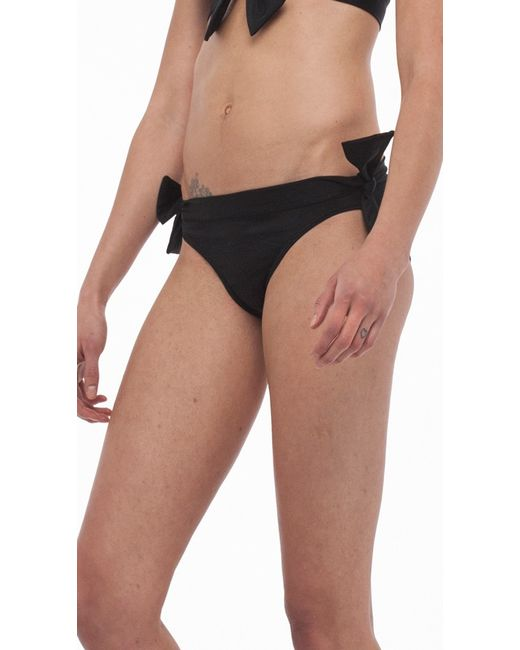 Norma Kamali | Black Eric Side Tie Bottom | Lyst