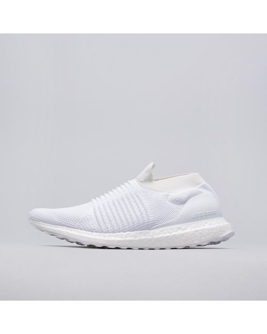 adidas originals ultra boost. adidas originals | ultra boost laceless in white for men lyst