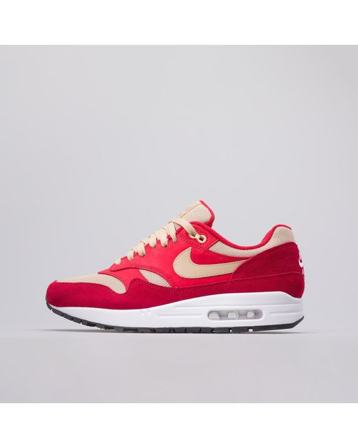 4e4811addf ... shop nike x atmos air max 1 premium retro red curry for men lyst a14da  f4d70
