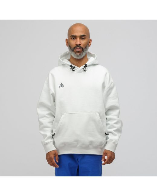 new arrival 6c387 08fa8 Nike - Acg Pullover Hoodie In Summit White for Men - Lyst ...