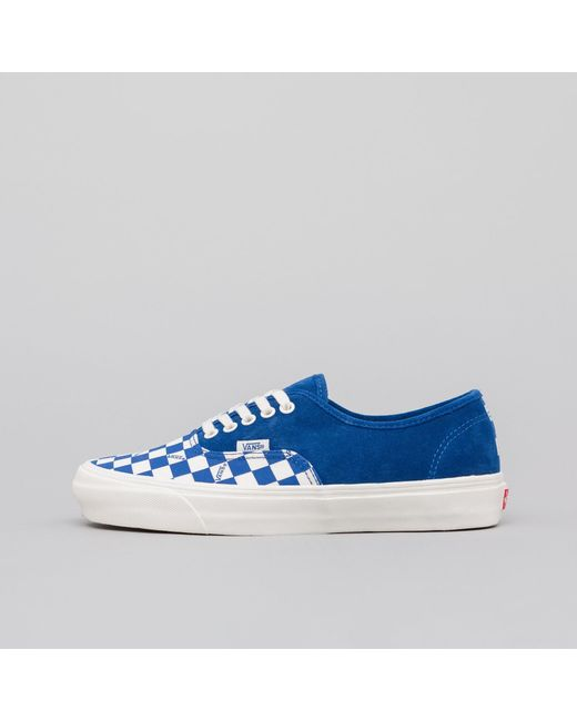 aa95d3a621 Lyst - Vans Authentic Lx In True Blue in Blue for Men