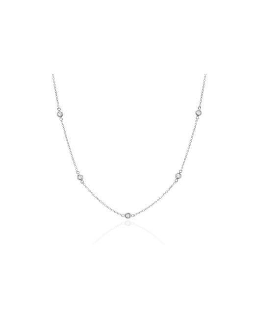 EF Collection - Metallic 14k Bezel Strand Necklace - Lyst