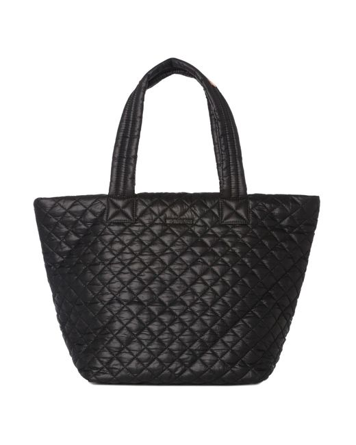 MZ Wallace - Black Medium Metro Tote - Lyst