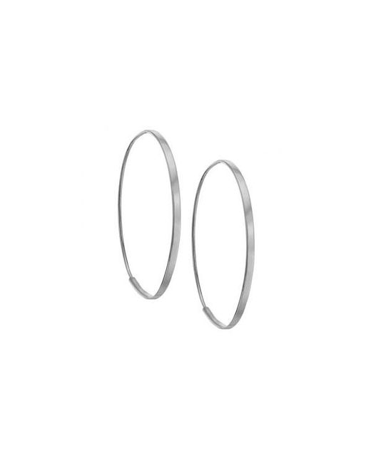 Lana Jewelry | Metallic Small Flat Magic Hoops | Lyst