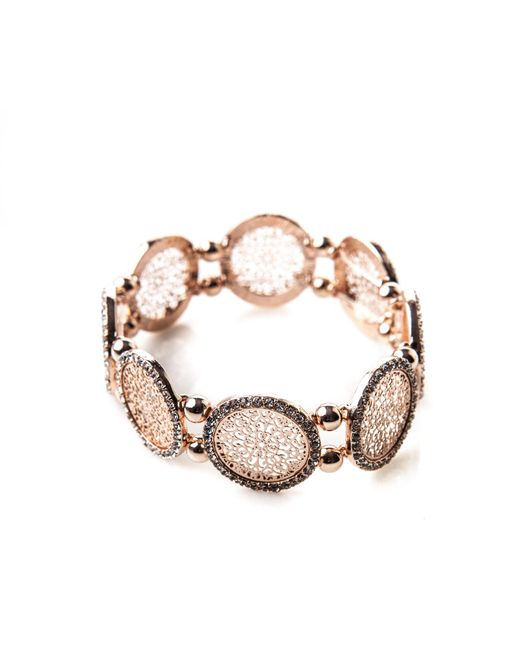 Oasis - Multicolor Filigree Stretch Bracelet - Lyst