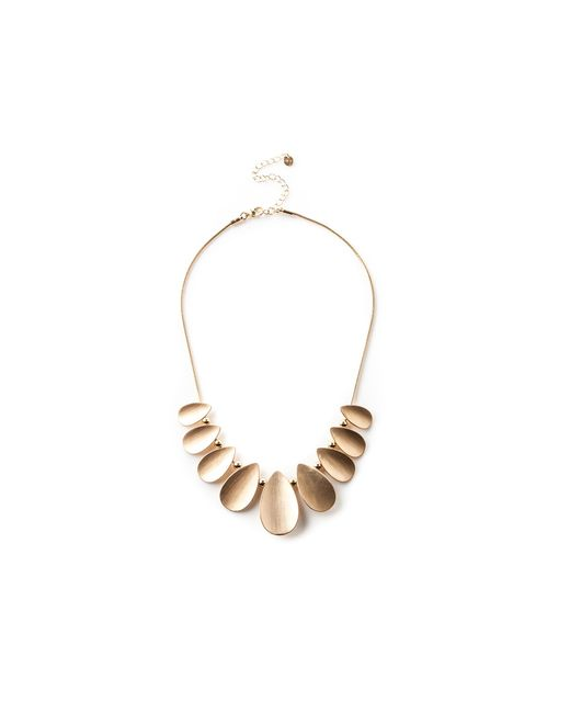 Oasis - Metallic Teardrop Necklace - Lyst