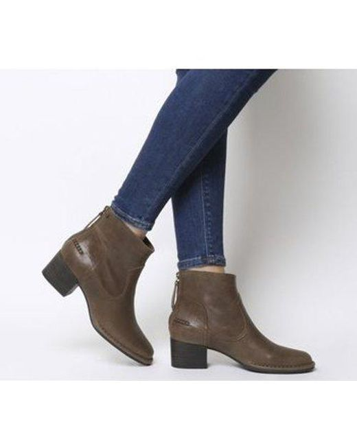 0cccfbfd37a Women's Brown Bandara Ankle Boot