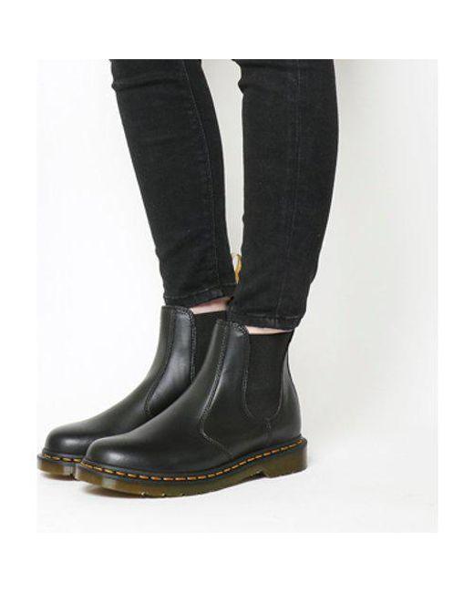 ac716f16704c Dr. Martens Vegan 2976 Chelsea Boot in Black - Lyst