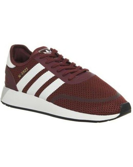 aa3cb9821dc adidas Iniki Runner Cls Te in Red for Men - Lyst
