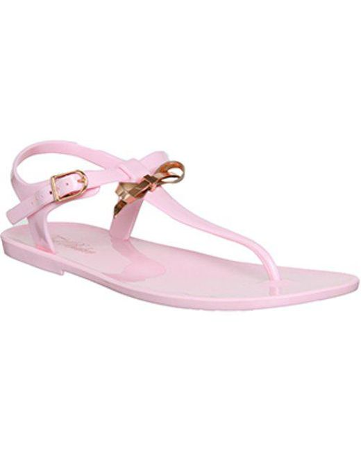 67e5a5338b439 Lyst - Ted Baker Verona Sandal in Pink