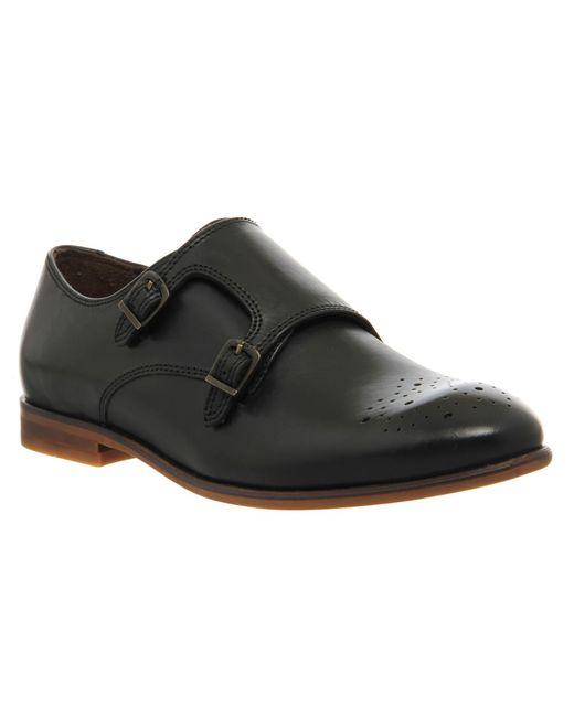 H by Hudson   Black Habit Monk Shoes   Lyst