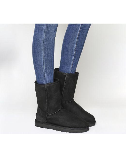 Ugg   Black Classic Short Ii Boots   Lyst